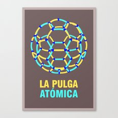 Lionel Messi – The 'Atomic' Flea Canvas Print