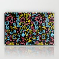Galore (black Version) Laptop & iPad Skin