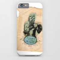 Fight for your mind iPhone 6 Slim Case