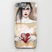 iPhone & iPod Case featuring heart by semaiscan