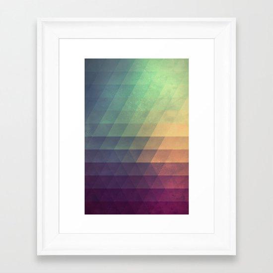 fyde Framed Art Print