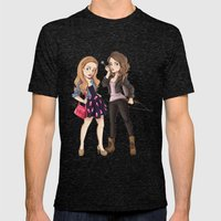 Teen Wolf Ladies Mens Fitted Tee Tri-Black SMALL