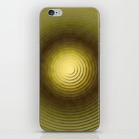 Top Circles  iPhone & iPod Skin