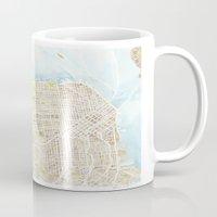 San Francisco CA City Map  Mug