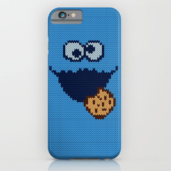 monster 'nom nom' knit iPhone & iPod Case