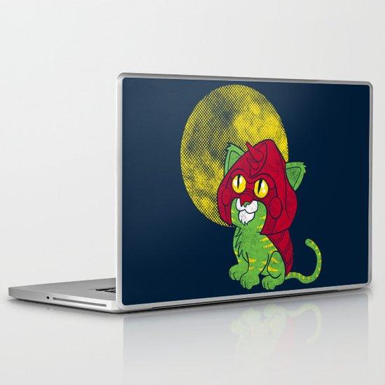 Battle Kitty  Laptop & iPad Skin