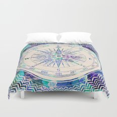 Follow Your Own Path Duvet Cover