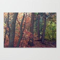 Crimson Forest Canvas Print