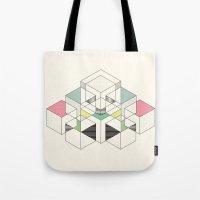 GEOMETRIC SPACE Tote Bag