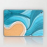 Beach Tide Laptop & iPad Skin