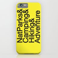iPhone & iPod Case featuring National Parks & Hiking & Camping & Adventure by New Rustic Future