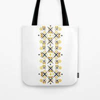 The Fence (Gold) Tote Bag