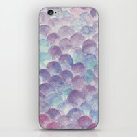 purple scales iPhone & iPod Skin