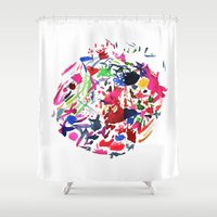 Cool Moon Shower Curtain