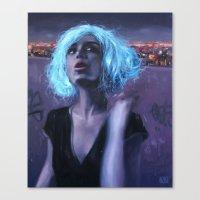 the magic wig Canvas Print