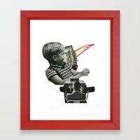 Breaking Free Framed Art Print