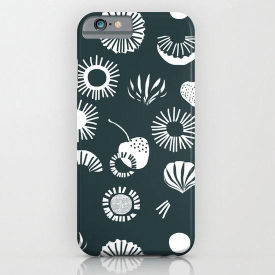 Seaflower mono iPhone & iPod Case