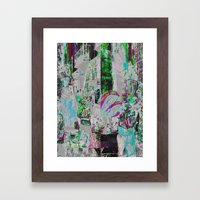 A balance between we and they but the as yet I, 10 Framed Art Print