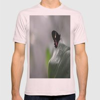 Butterfly Bokeh  Mens Fitted Tee Light Pink SMALL