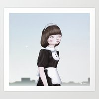 Air Doll Art Print