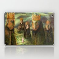 In The Company Of Kings Laptop & iPad Skin