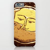 iPhone & iPod Case featuring Conjunction moon and planet by Lulla
