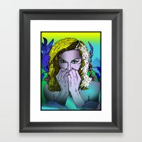 Undamaged Framed Art Print
