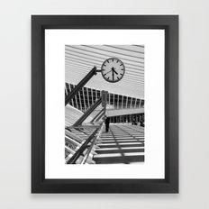 Train  Station Luik - Guillemins Framed Art Print
