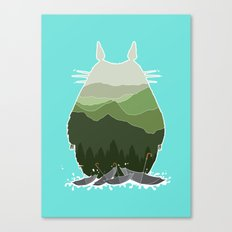 No more rainy days Canvas Print