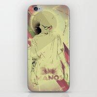 Big Manos iPhone & iPod Skin