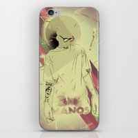 Big Manos iPhone & iPod Skin