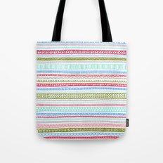 Reddish Pattern Tote Bag