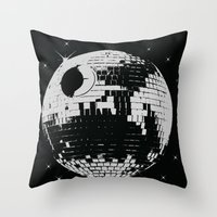 thats not a disco Throw Pillow