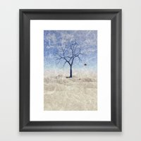 When The Last Leaf Falls Framed Art Print