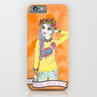 iPhone & iPod Case featuring Total Knock Out by Jade Boylan