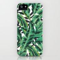 Tropical Glam Banana Lea… iPhone (5, 5s) Slim Case