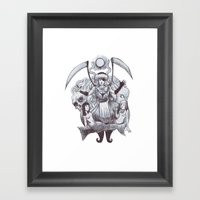 Abrxs Framed Art Print