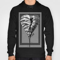Razor Blade Romance (Black and White Version) Hoody