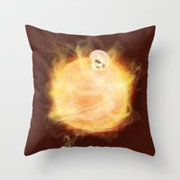 Lost In A Space / Sunlio… Throw Pillow