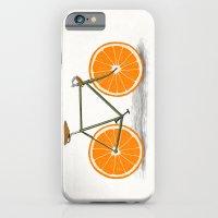 iPhone & iPod Case featuring Zest (Orange Wheels) by Speakerine / Florent Bodart