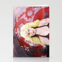 Fire And Blood Daenerys … Stationery Cards