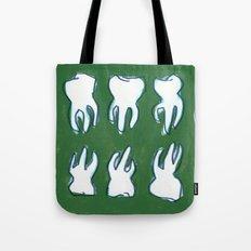 molar pattern Tote Bag