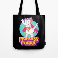 Princess Of Purrr Tote Bag