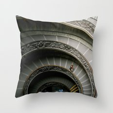 The Climb of a Lifetime Throw Pillow