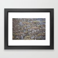Rock Solid Framed Art Print
