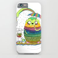 iPhone & iPod Case featuring Adventure time Totoro by Luna Portnoi by Luna Portnoi