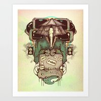 Art Print featuring Transcendental Tourist by Boots