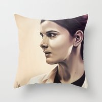 Molly Hooper - Sherlock Throw Pillow