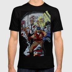 Zombie Rush  Mens Fitted Tee Black SMALL