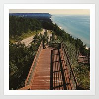 Lake Michigan Overview -… Art Print